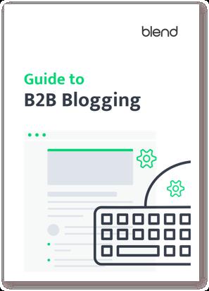 Guide to b2b blogging