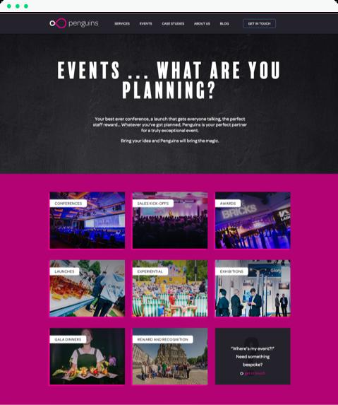 Award Winning Hubspot Site