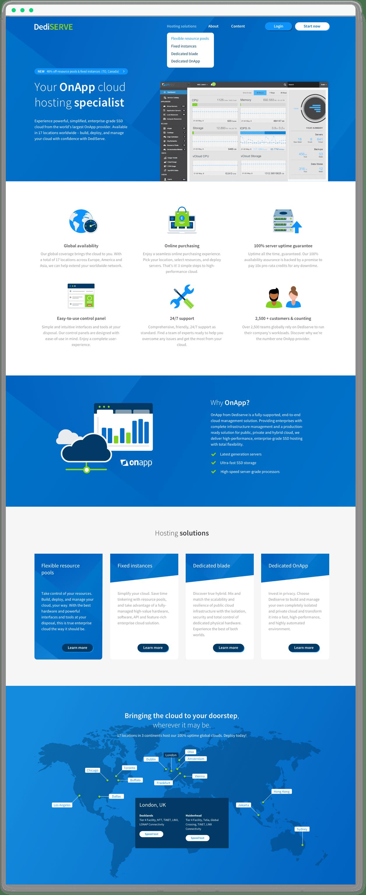 dediserve-homepage