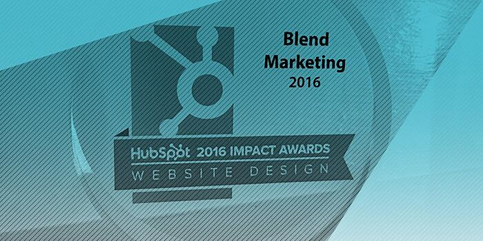 Hubspot Impact Award Grand Prize Winner  - Website Design