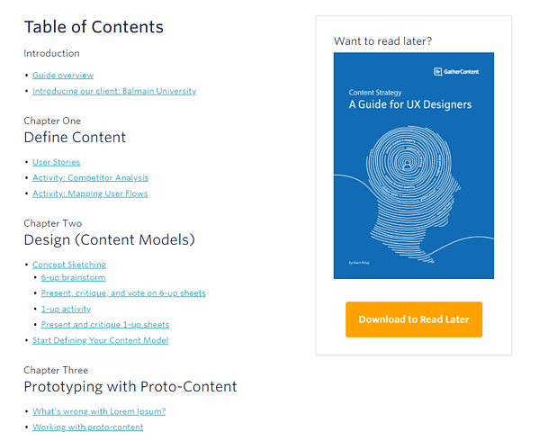 Internal nav - download - GatherContent